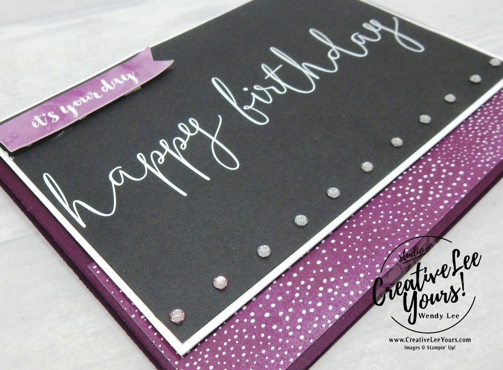 Happy Birthday Friend by wendy lee, stampin up, handmade, stamping, #creativeleeyours, creatively yours, creative-lee yours, Kylie Bertucci, international highlights, blog hop, detailed with love stamp set, friend, #makeacardsendacard, SU, memories & more