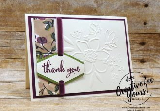 wendy lee, Tailored Thank You by aimee smith, Stampin Up, stamping, handmade card, friend, thank you, birthday, #creativeleeyours, creatively yours, creative-lee yours, diemonds team swap, love what you do stamp set, SU, SU cards, rubber stamps