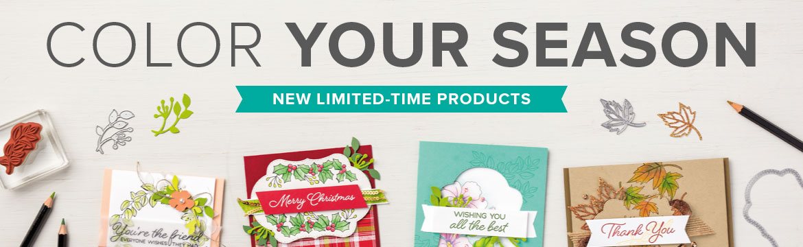 color your season promotion, Stampin Up, promotion, free ink pads, #creativeleeyours, wendy lee, creatively yours, creative-lee yours, stamping, paper crafting, handmade, business opportunity