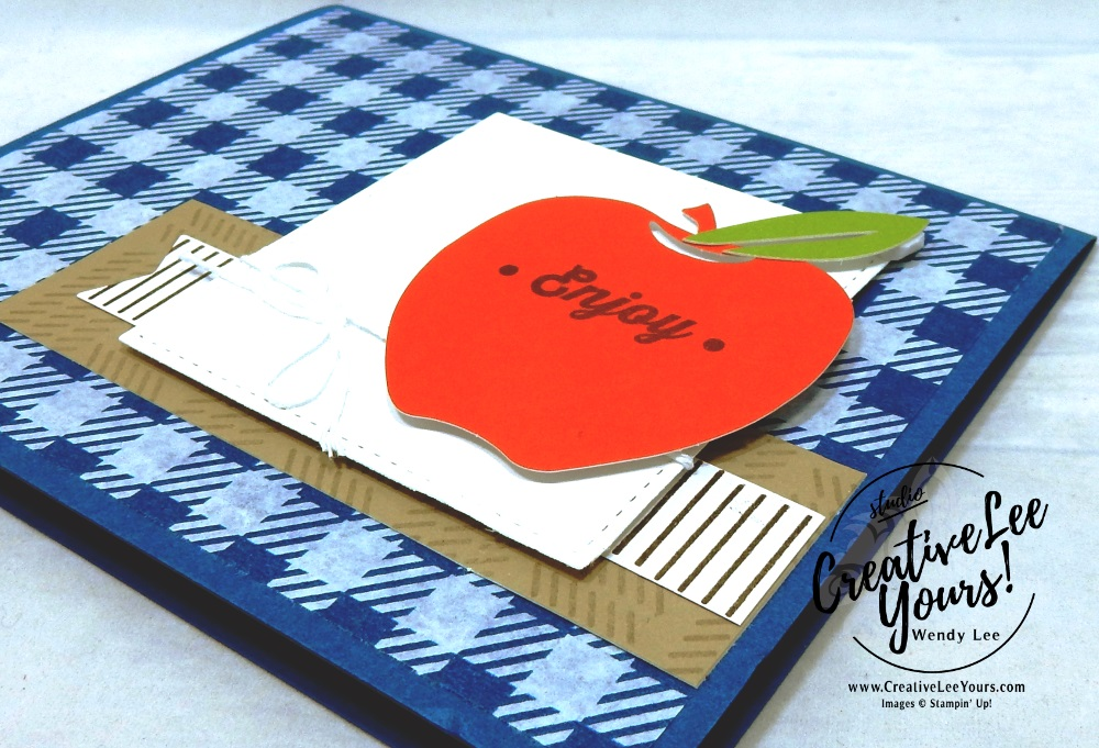 Enjoy July 2018 picnic paradise Paper Pumpkin Kit by wendy lee, stampin up, handmade cards, rubber stamps, stamping, kit, subscription, #creativeleeyours, creatively yours, creative-lee yours, birthday, friend, thank you, congrats, alternate