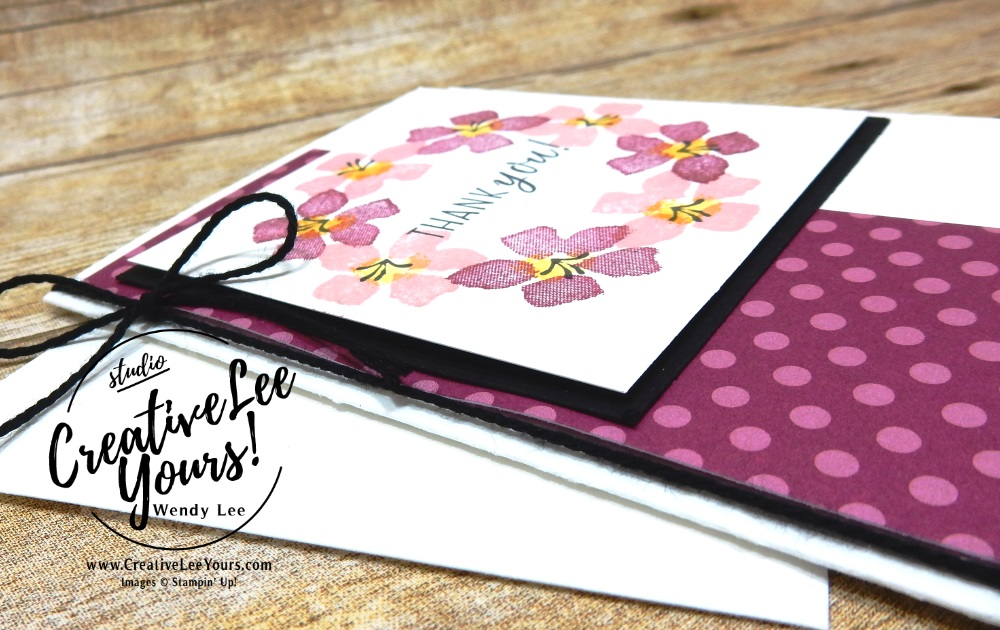 August 2018 Blissful Blooms Paper Pumpkin Kit by wendy lee, stampin up, handmade cards, floral, rubber stamps, stamping, kit, subscription, #creativeleeyours, creatively yours, creative-lee yours, birthday, friend, thank you, congrats, video, alternate projects, fast & easy, DIY, wedding, september fmn bonus card, FMN, stamparatus