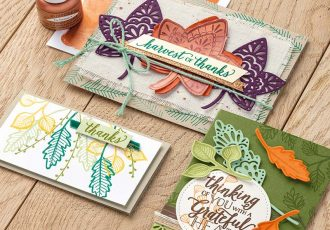 Falling for Leaves Bundle, Stampin' Up!, Video, Wendy Lee, stampin Up, #creativeleeyours, hand made, stamping, SU, creatively yours, creative-lee yours, product tips, paper crafting, DIY, fall, leaves, thanksgiving, place cards