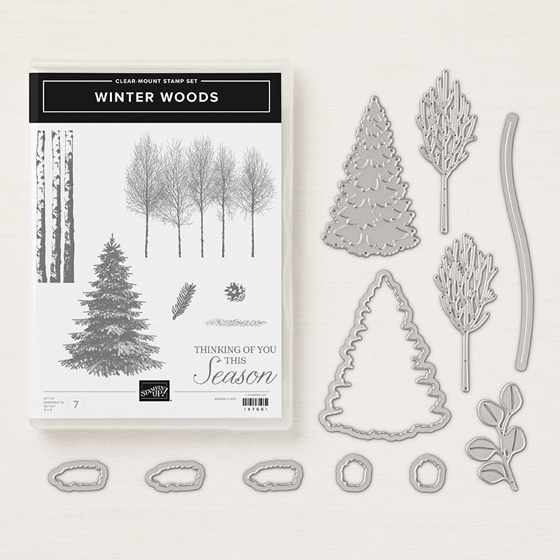 Winter Woods Bundle, Stampin' Up!, Video, Wendy Lee, stampin Up, #creativeleeyours, hand made, stamping, SU, creatively yours, creative-lee yours, product tips, paper crafting, DIY, fall, leaves, thanksgiving, winter, place cards, masculine, trees, lovely as a tree, rooted in nature