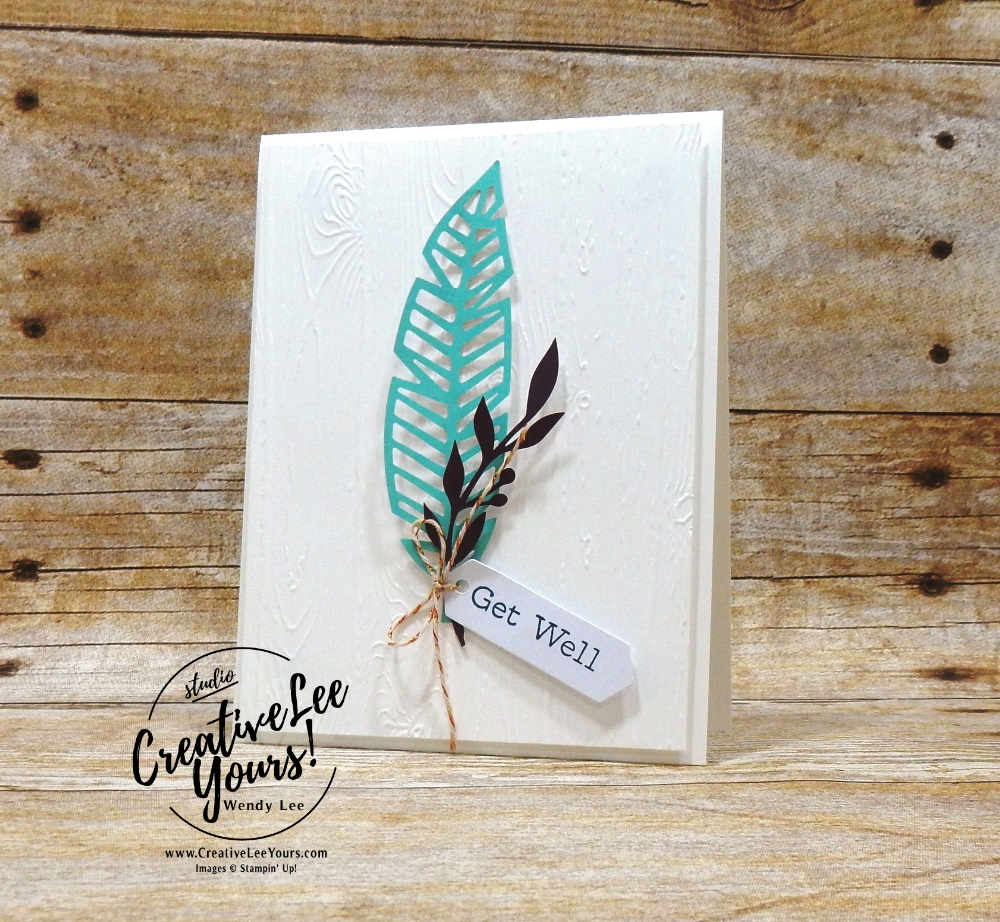 October 2018 Friends Of A Feather Paper Pumpkin Kitby wendy lee, stampin up, handmade cards, feathers rubber stamps, stamping, kit, subscription, #creativeleeyours, creatively yours, creative-lee yours, birthday, friend, thank you, congrats, alternate projects, fast & easy, DIY, wedding, thank you, #simplestamping