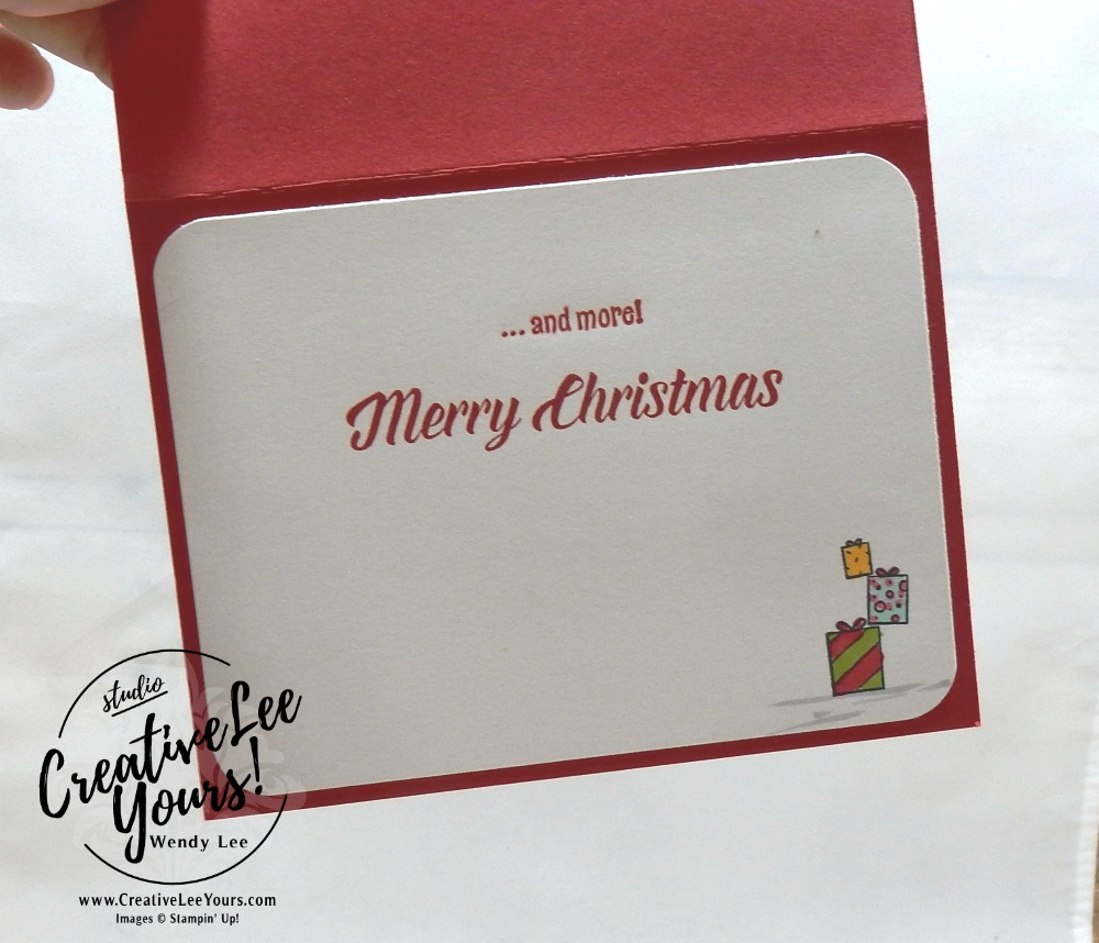 North Pole by belinda rodgers, wendy lee, Stampin Up, stamping, handmade card, #creativeleeyours, creatively yours, creative-lee yours, diemonds team, signs of santa stamp set, SU, SU cards, rubber stamps, demonstrator, DIY, christmas, business opportunity