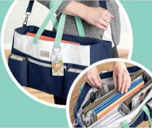 Craft & Carry Tote with wendy lee, stampin up, SU, #creativeleeyours, creative-lee yours, creatively yours, stamping, carry bag,Diemonds team, business opportunity, DIY, fellowship