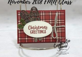 Masculine Plaid Fun Fold Gift Card Holder by wendy lee, November 2018 FMN Class, Forget me not, Stampin Up, stamping, handmade card, holiday, christmas, #creativeleeyours, creatively yours, creative-lee yours, SU, SU cards, rubber stamps, paper crafting, alpine adventure stamp set, Merry Christmas, Happy Holidays, DIY, card club, money holder, gift card, alpine sports thinlit dies, fun fold