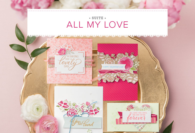 Forever lovely stamp set, Lovely flowers framelits, Meant to Be Stamp Set, Be Mine Framelits, All My Love Suite, all my love designer paper, wendy lee, Stampin Up, #creativeleeyours, creatively yours, creative-lee yours, SU, DIY, paper craft, video, product tips, product highlights, treats, hearts, valentine, anniversary, together