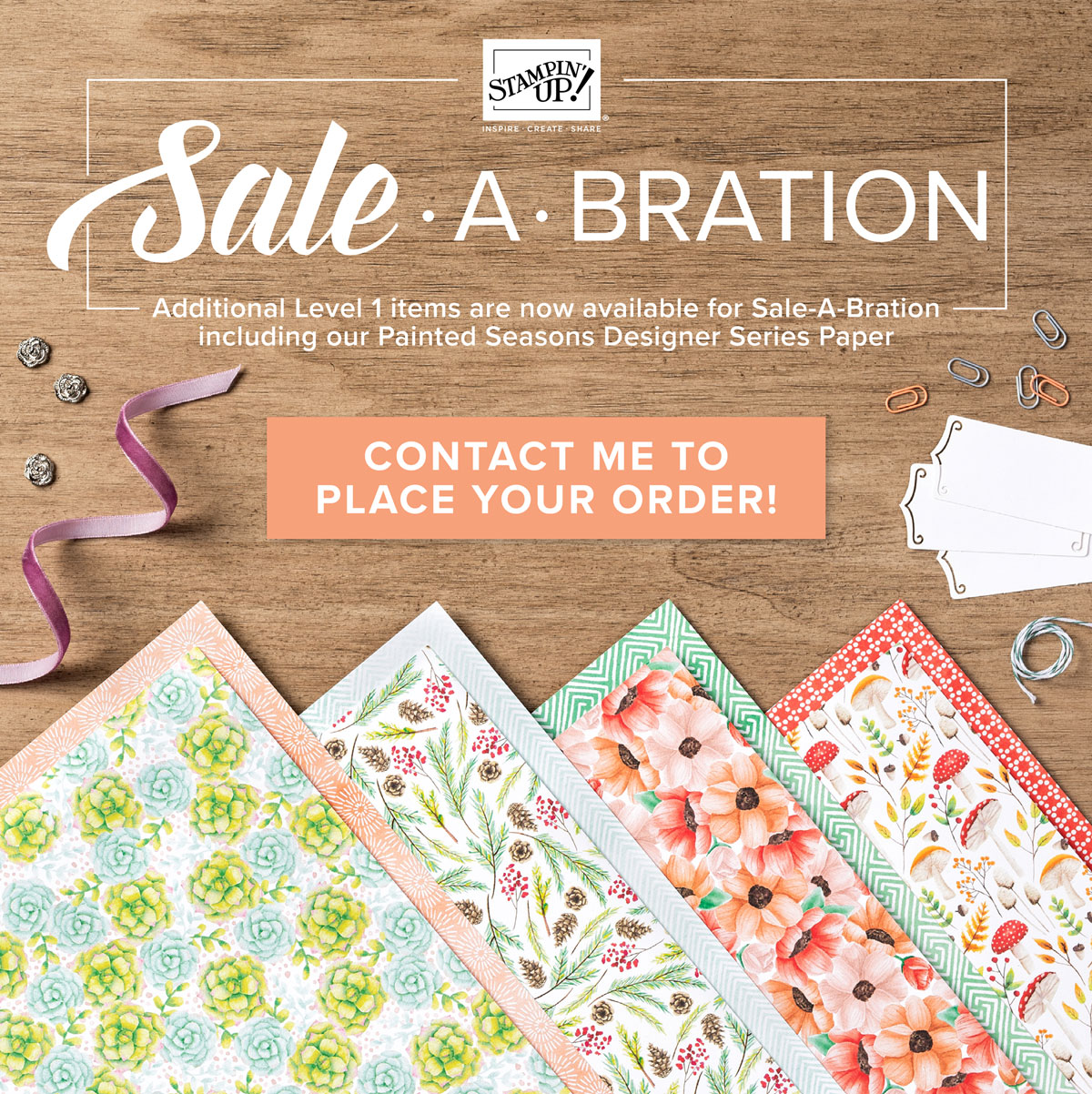 Stampin Up, promotion, sale-a-bration, SAB, #creativeleeyours, wendy lee, creatively yours, free products, stamping, paper crafting, handmade, Craft & Carry Tote, stampin up, SU, creative-lee yours, carry bag, Diemonds team, business opportunity, DIY, fellowship, 2nd release