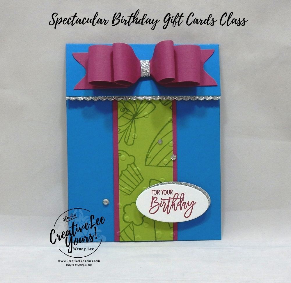 Birthday Present Gift Card Holder By Wendy Lee Stampin Up Stamping Handmade