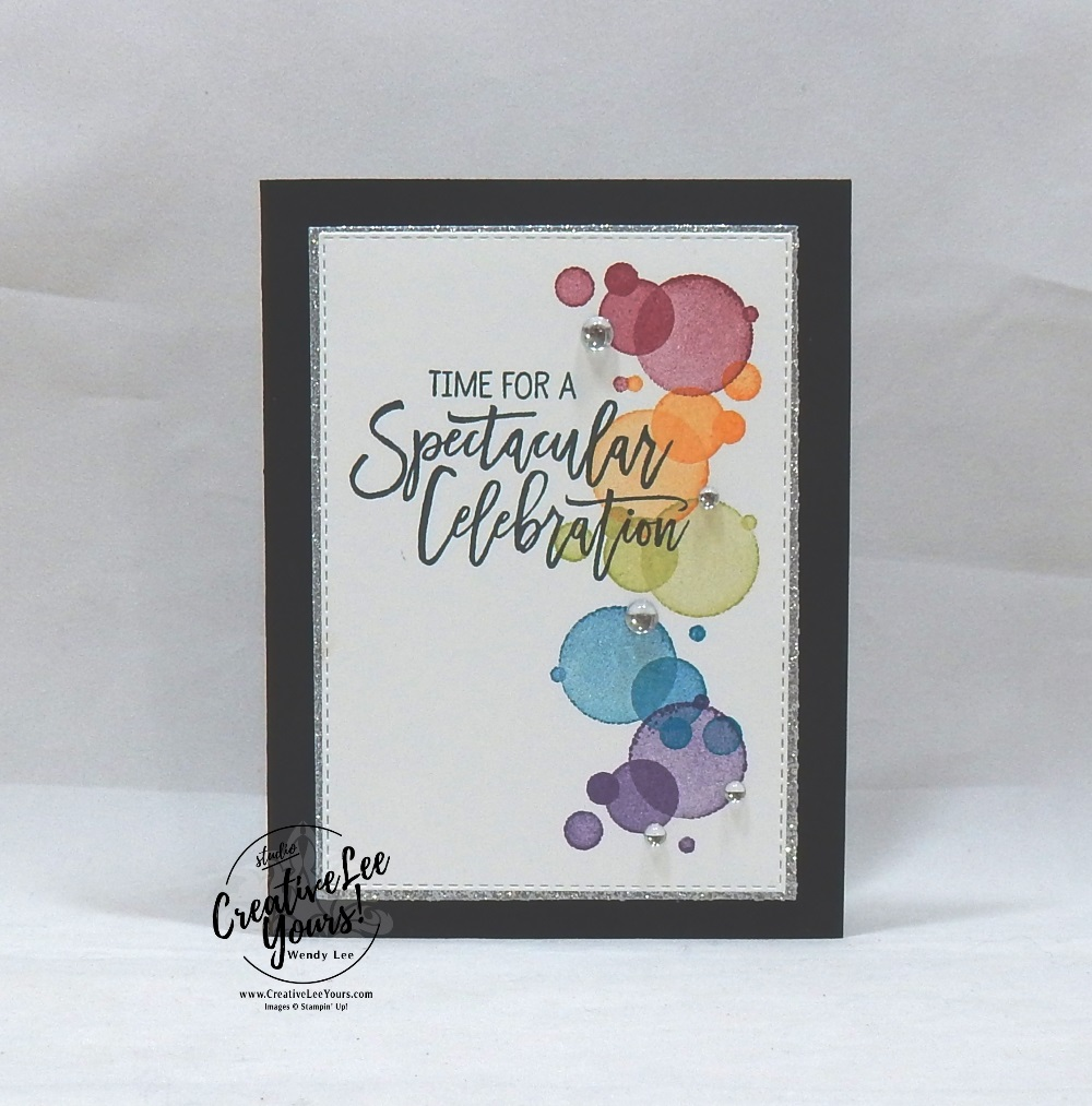 Ink Spot Birthday by wendy lee, Stampin Up, stamping, handmade card, friend, celebrate, graduation, birthday, wedding, #creativeleeyours, creatively yours, creative-lee yours, SU, SU cards, rubber stamps, paper crafting, all occasions, DIY,  birthday cheer stamp set, masculine, splash, celebration