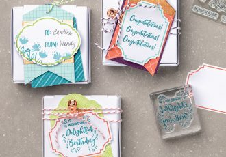 Delightful Day Tags with Wendy Lee, stampin Up, SU, #creativeleeyours, hand made card, tags, friend, birthday, hello, thanks, flowers, celebration, creatively yours, creative-lee yours, DIY, product tip,  kit, special, thankful, project kit, video