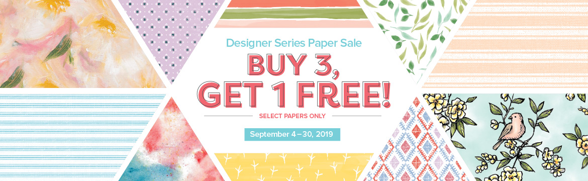 DSP buy 3 get 1 free sale with wendy lee, Stampin Up,  SU, #creativeleeyours, stamping, creatively yours, creative-lee yours, paper, pattern paper, handmade cards, gifts, designer paper, stampin up, papercrafting, DIY