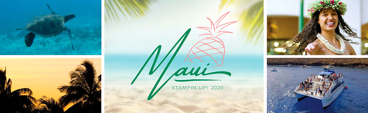 stampin up 2020 Maui incentive trip, wendy lee, #creativeleeyours, creatively yours, demonstrator rewards, travel, hawaii, SU, business opportunity