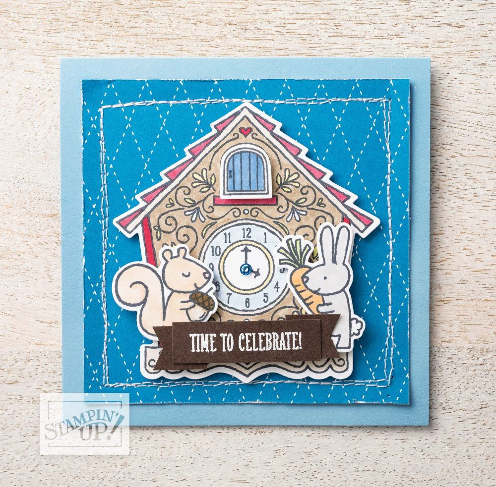 Cuckoo For You Bundle video with Wendy Lee, cuckoo for you stamp set, cuckoo clock dies, interactive, stampin up, handmade cards, rubber stamps, stamping, #creativeleeyours, creatively yours, creative-lee yours, celebration, smile, thank you, DIY, miss you, hello, friends, paper crafts, interactive