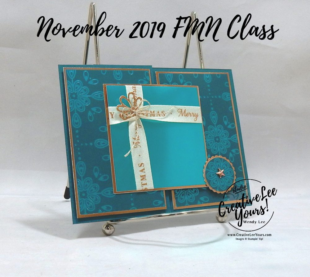 Christmas Present Gift Card Holder by Wendy Lee, October 2019 Paper Pumpkin Kit, stampin up, handmade cards, rubber stamps, stamping, kit, subscription, #creativeleeyours, creatively yours, creative-lee yours, celebration, smile, thank you,  alternate, bonus tutorial, fast & easy, DIY, #simplestamping, card kit, tags, holiday, Christmas,  cardinal, trees, winter wishes, snowflakes, FMN, BONUS card, present