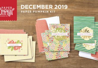 Wendy Lee, December 2019 Paper Pumpkin Kit, stampin up, handmade cards, rubber stamps, stamping, kit, subscription, #creativeleeyours, creatively yours, creative-lee yours, celebration, smile, thank you, birthday, sorry, think of you, love, valentine, congrats, lucky, feel better, sympathy, get well, alternate, bonus tutorial, fast & easy, DIY, #simplestamping, card kit, flowers