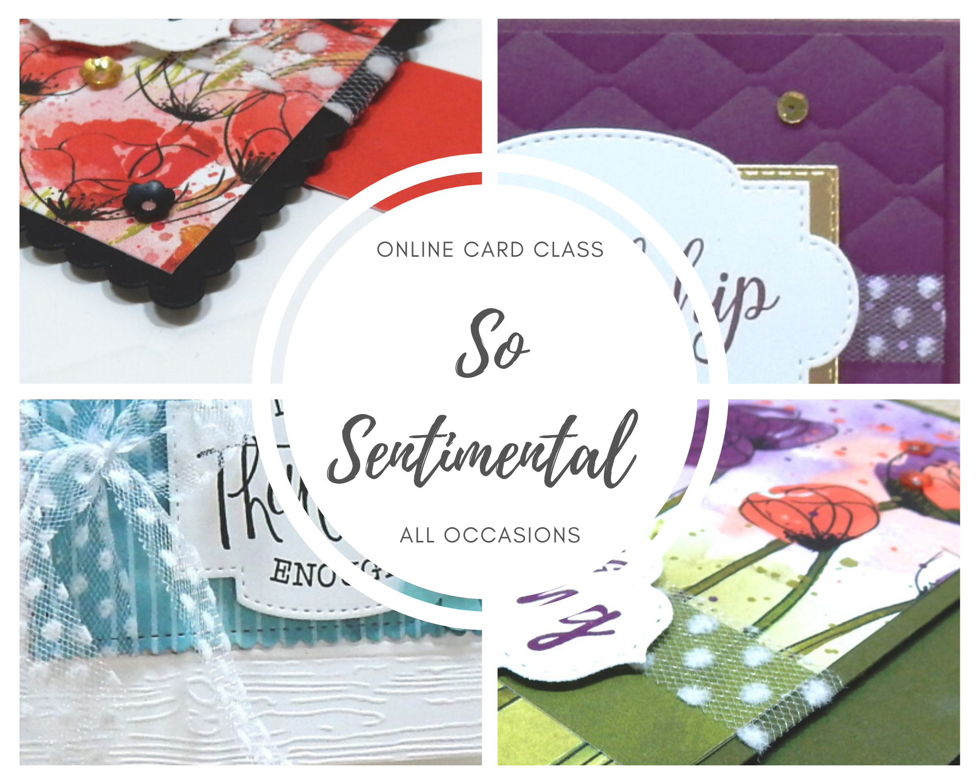 So Sentimental Class by wendy lee, Stampin Up, #creativeleeyours, wendy lee, creatively yours, creative-lee yours, stamping, paper crafting, handmade, cards, class, friend, so sentimental stamp set, stitched so sweetly, all occasions, poppies, DSP, patternpaper, crafts, paper crafts