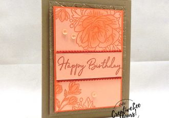 Lovely Birthday by Wendy Lee, February 2020 Paper Pumpkin Kit, lovely day, stampin up, handmade cards, rubber stamps, stamping, kit, subscription, #creativeleeyours, creatively yours, creative-lee yours, SU, wedding, birthday, cake, happy birthday to you stamp set, alternate, bonus tutorial, fast & easy, DIY, #simplestamping, card kit, flowers, paper crafts