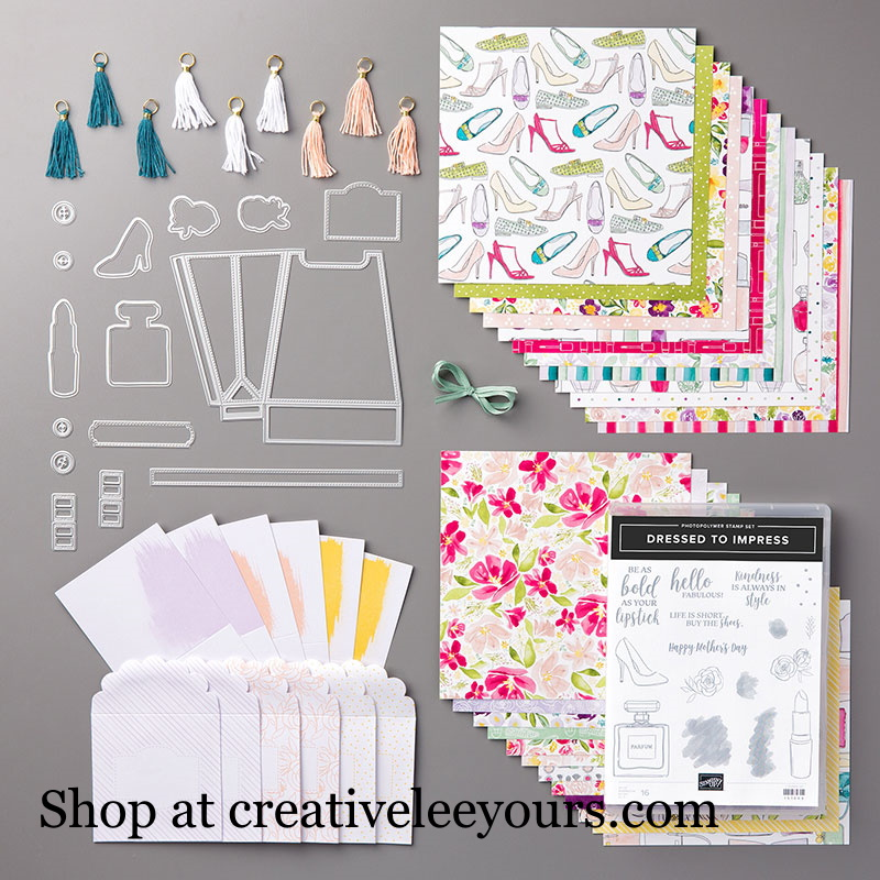 Best Dressed Suite, Wendy Lee, stampin up, handmade cards, rubber stamps, stamping, #creativeleeyours, creatively yours, creative-lee yours, friend, celebration, smile, thank you, birthday, congrats, amazing, love, video, DIY, 3D, lipstock, shoes, moms closet, purses, lipstick, clothes, #su , #stampinupdemonstrator, #papercrafts , #papercraft , #papercrafting , #makeacardsendacard ,#makeacardchangealife , dressed to impress stamp set, all dressed up dies
