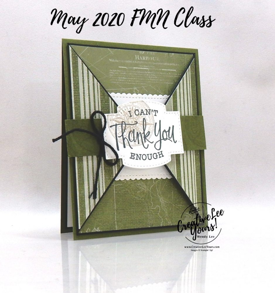 Thank you gate fold by wendy lee, stampin up, stamping, SU, #creativeleeyours, creatively yours, creative-lee yours, handmade card, friend, celebration, congratulations, thank you, dad, hello, stamping, DIY, paper crafts, embossing, tutorial, FMN, forget me not, card club, class, so sentimental stamp set, sailing home stamp set, #makeacardsendacard ,#makeacardchangealife, fun fold, masculine, nautical, maritime, bellyband