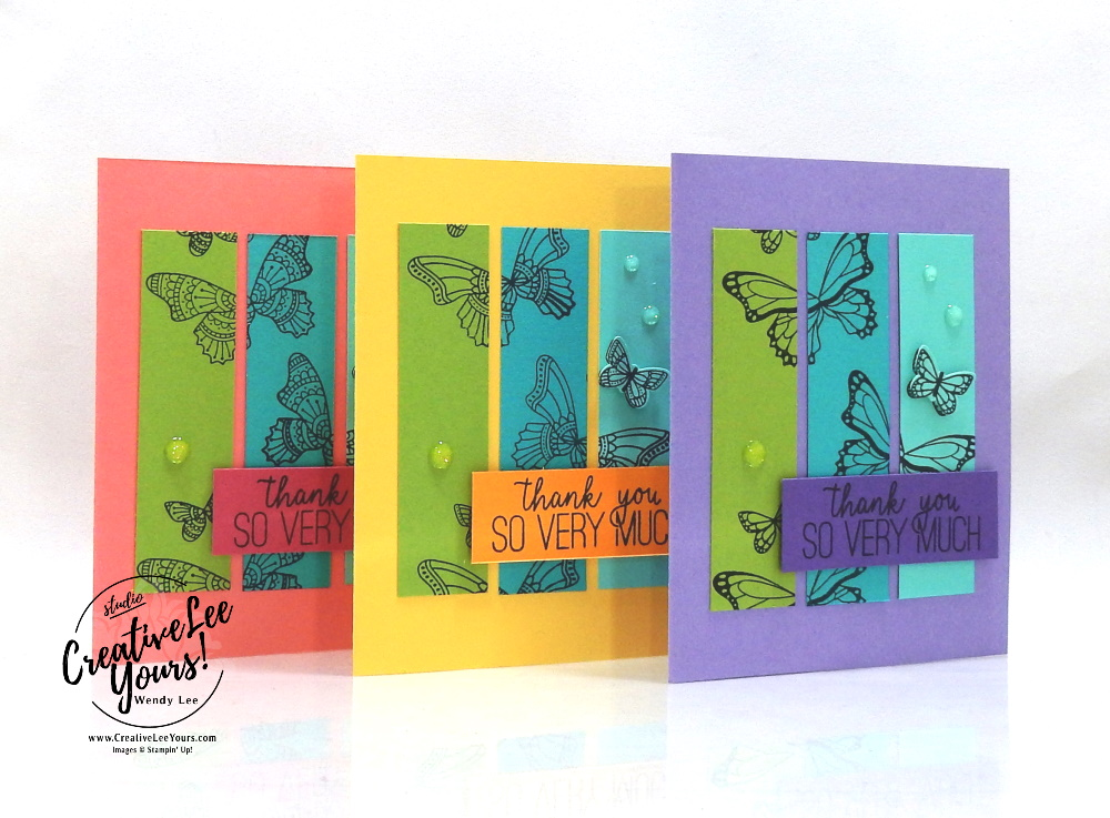 Color Blocked Butterflies by wendy lee, Stampin Up, #creativeleeyours, creatively yours, stamping, paper crafting, handmade, SU, SUO, creative-lee yours, DIY, fellowship, paper crafts, video, friend, birthday, celebration, butterfly gala stamp set, live paper crafting, ,#onlinecardclasses,#makeacardsendacard ,#makeacardchangealife, #tutorial, butterflies, facebook live, #simplestamping, #onlineworkshop