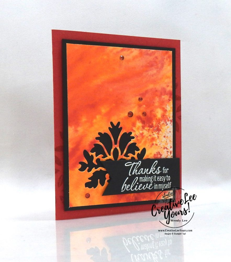 Tasteful Thanks by Wendy Lee, Tutorial, stampin Up, SU, #creativeleeyours, handmade card, friend, celebration, thank you, thinking of you, believe, stamping, creatively yours, creative-lee yours, DIY, birthday, embossing, papercrafts, international highlights, kylie bertucci, blog hop, #makeacardsendacard ,#makeacardchangealife, tasteful textures stamp set, retiring products, retiring stamps, #stampinupdemonstrator , #cardmaking #handmadecard #rubberstamps