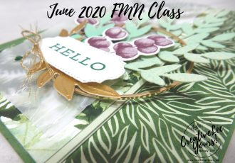 Hello Fun Fold by wendy lee, stampin up, stamping, SU, #creativeleeyours, creatively yours, creative-lee yours, #cardmaking #handmadecard #rubberstamps #stamping, friend, celebration, congratulations, thank you, hello, birthday, stamping, DIY, paper crafts, tutorial, FMN, forget me not, card club, class, forever fern stamp set, #makeacardsendacard ,#makeacardchangealife, fun fold, forever flourish dies, greenery embossing folder, Forever fern suite