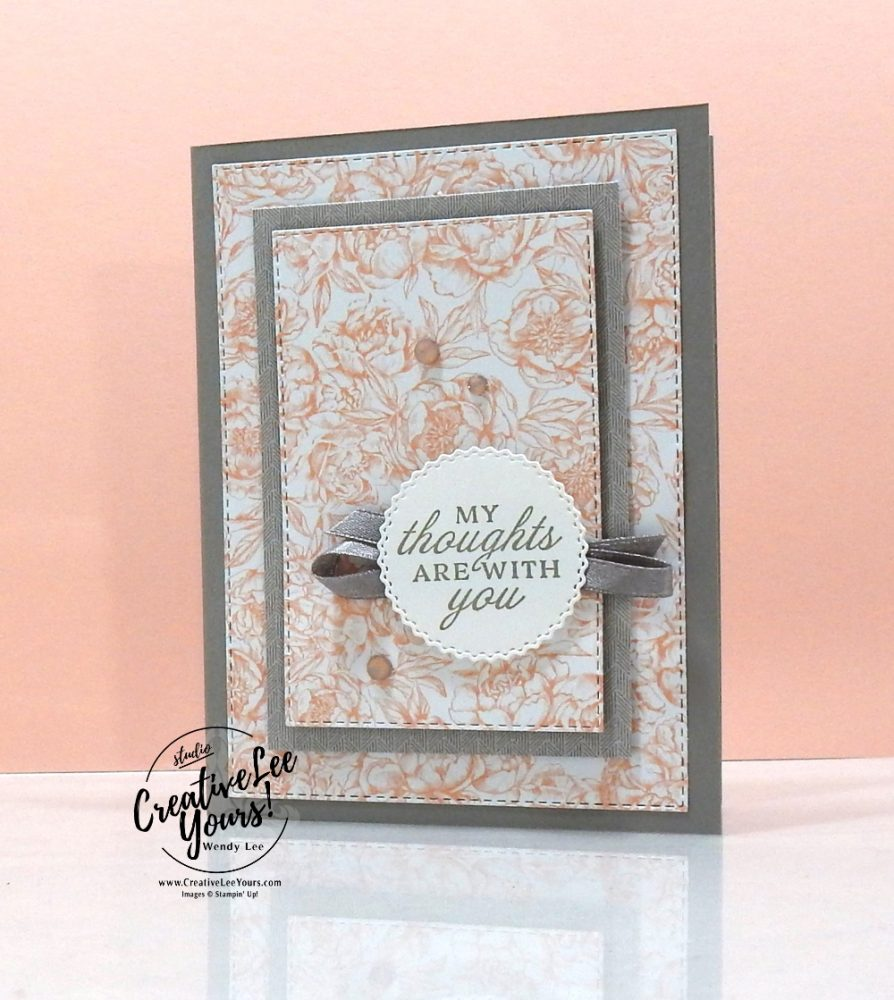 Peony Garden by wendy lee, Stampin Up, #creativeleeyours, creatively yours, #cardmaking #handmadecard #rubberstamps #stamping, SU, SUO, creative-lee yours, #DIY, #papercrafts , #papercraft , #papercrafting , fellowship, video, friend, birthday, peony, celebration, prized peony stamp set, live paper crafting, ,#onlinecardclasses,#makeacardsendacard ,#makeacardchangealife, #tutorial, Facebook live, #newproducts, #20202021catalog, flowers, #patternpaper, #loveitchopit, paper share