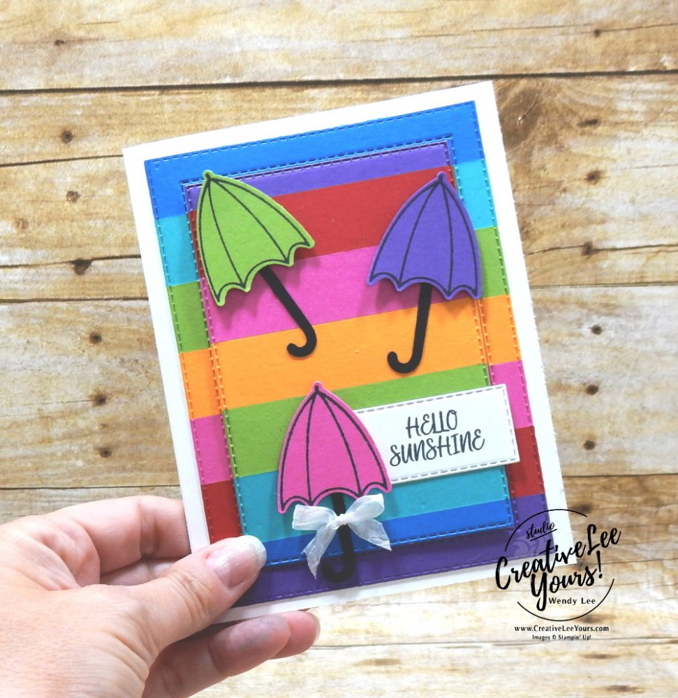 Hello Sunshine by wendy lee, Stampin Up, #creativeleeyours, creatively yours, creative-lee yours, #stampinup , #su , #stampinupdemonstrator , #cardmaking, #handmadecard, #rubberstamps, #stamping, #cardclass ,#cardclub ,#cardclasses ,#onlinecardclasses , ,#tutorial ,#tutorials ,#technique ,#techniques #DIY, #papercrafts , #papercraft , #papercrafting , #papercraftingsupplies, #papercraftingisfun, #makeacardsendacard ,#makeacardchangealife , friend, thinking of you, birthday, hello, thank you, congratulations, DIY, color block, FMN, bonus tutorial