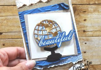 Beautiful by wendylee , #creativeleeyours , #stampinup , #su , #stampinupdemonstrator , #cardmaking, #handmadecard, #rubberstamps, #stamping, #DIY, #papercrafts , #papercraft , #papercrafting , #papercraftingsupplies, #papercraftingisfun, #papercraftingideas, #makeacardsendacard ,#makeacardchangealife, beautiful world, world map, masculine card,globe, M&M, memories and more