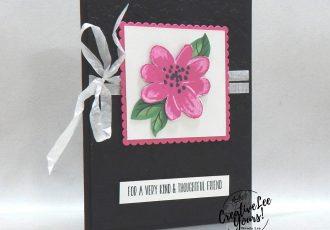 Gorgeous Posies BONUS sneak peek by Wendy Lee, stampin Up, SU, #creativeleeyours, handmade card, gorgeous posies stamp set, get well, friend, celebration, thank you, stamping, creatively yours, creative-lee yours, DIY, birthday, #simplestamping, papercrafts, #makeacardsendacard ,#makeacardchangealife , rubberstamps, #stampinupdemonstrator , #cardmaking, #papercrafts , #papercraft , #papercrafting , #papercraftingsupplies, #papercraftingisfun, #kit, #craftkit, #craftkits, #papercraftingkit, #gorgeousposieskit, video, facebook live, bonus class, alternate