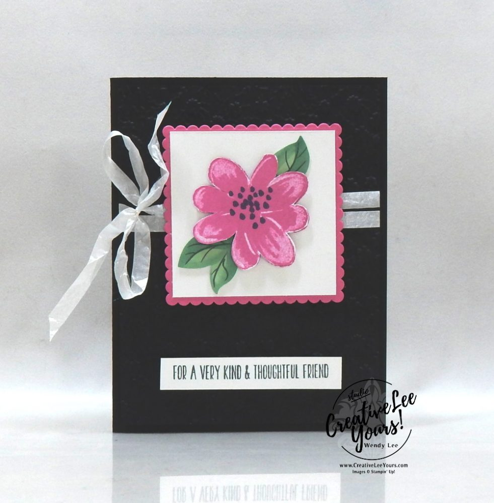 Gorgeous Posies BONUS sneak peek by Wendy Lee, stampin Up, SU, #creativeleeyours, handmade card, gorgeous posies stamp set, get well, friend, celebration, thank you, stamping, creatively yours, creative-lee yours, DIY, birthday, #simplestamping, papercrafts, #makeacardsendacard ,#makeacardchangealife , rubberstamps, #stampinupdemonstrator , #cardmaking, #papercrafts , #papercraft , #papercrafting , #papercraftingsupplies, #papercraftingisfun, #kit, #craftkit, #craftkits, #papercraftingkit, #gorgeousposieskit, video, facebook live, bonus class, alternate