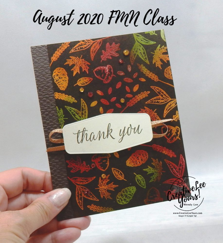 Beautiful Autumn Josephs Coat by wendy lee, stampin up, stamping, SU, #creativeleeyours, creatively yours, creative-lee yours, #cardmaking #handmadecard #rubberstamps #stamping, friend, celebration, congratulations, thank you, hello, grateful, thinking of you, birthday, fall, leaves, autumn, stamping, DIY, paper crafts, #papercrafting , #papercraftingsupplies, #papercraftingisfun , tutorial, FMN, forget me not, card club, class, Beautiful Autumn stamp set, #makeacardsendacard ,#makeacardchangealife, ,#tutorial ,#tutorials