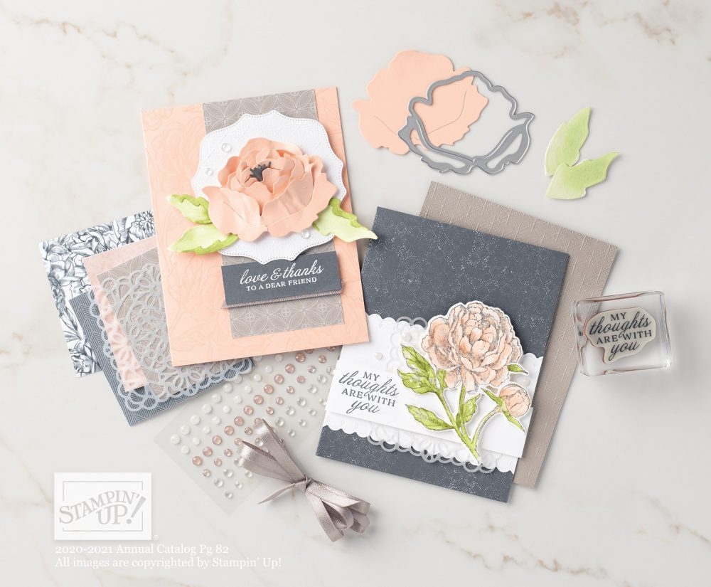 Peony Garden suite, Stampin' Up! Video with wendy lee, Prized Peony stamp set, Stampin Up, #creativeleeyours, creatively yours, #stampinupdemonstrator ,#cardmaking #handmadecard #rubberstamps #stamping, SU, SUO, creative-lee yours, #DIY, #papercrafts , #papercraft , #papercrafting , fellowship, video, friend, birthday, celebration, hello, thank you, sympathy, #makeacardsendacard ,#makeacardchangealife, #papercraftingsupplies, #papercraftingisfun, #simplestamping