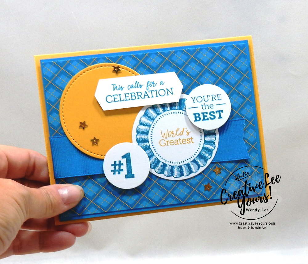 World's Greatest by Wendy Lee, August 2020 Paper Pumpkin Kit, Worlds greatest, stampin up, handmade cards, rubber stamps, stamping, kit, subscription, #creativeleeyours, creatively yours, creative-lee yours, celebration, thank you, birthday, everyday heroes, congrats, teacher, coach,alternate, bonus tutorial, fast & easy, DIY, #simplestamping, card kit, subscription, craft kit, #papercrafts , #papercraft , #papercrafting , #papercraftingsupplies, #papercraftingisfun, #makeacardsendacard ,#makeacardchangealife , #paperpumpkin ,#paperpumpkinalternates , #paperpumpkinalternative ,#paperpumpkinalternatives, #papercraftingkit