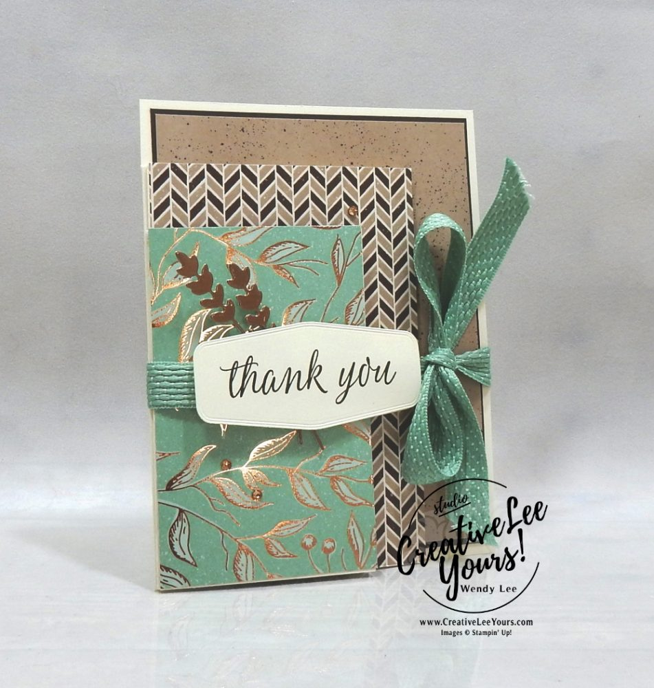 4 panel thank you by wendy lee, stampin up, stamping, SU, #creativeleeyours, creatively yours, creative-lee yours, #cardmaking ,#handmadecard, #rubberstamps, #stamping, friend, birthday, fall, autumn, celebration, fun fold,  stamping, DIY, paper crafts, #papercrafting , #papercraftingsupplies, #papercraftingisfun , Facebook live, beautifulautumn stamp set, celebrate sunflowers stamp set, #makeacardsendacard ,#makeacardchangealife, ,#tutorial ,#tutorials