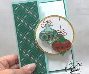 Altered Tri-Fold Shutter Christmas by wendy lee, stampin up, stamping, SU, #creativeleeyours, creatively yours, creative-lee yours, #cardmaking, #handmadecard, #rubberstamps #stamping, friend, celebration, congratulations, thank you, hello, grateful, thinking of you, birthday, Christmas, ornament, peace, holiday, fun fold, stamping, DIY, paper crafts, #papercrafting , #papercraftingsupplies, #papercraftingisfun , FMN, forget me not, card club, class, Tag Buffet stamp set, #makeacardsendacard ,#makeacardchangealife, ,#tutorial ,#tutorials, ornamental envelopes stamp set, envelope dies