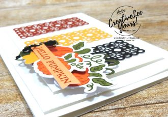 Hello Pumpkin by Wendy Lee, September 2020 Paper Pumpkin Kit, Hello Pumpkin, stampin up, handmade cards, rubber stamps, stamping, kit, subscription, #creativeleeyours, creatively yours, creative-lee yours, celebration, thank you, birthday, pumpkin, witch hat, cats, flowers, congrats, alternate, bonus tutorial, fast & easy, DIY, card kit, subscription, craft kit, #papercrafts , #papercraft , #papercrafting , #papercraftingsupplies, #papercraftingisfun, #makeacardsendacard ,#makeacardchangealife , #paperpumpkin ,#paperpumpkinalternates , #paperpumpkinalternative ,#paperpumpkinalternatives, #papercraftingkit,