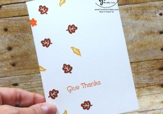 Give Thanks Note Card by Wendy Lee, September 2020 Paper Pumpkin Kit, Hello Pumpkin, stampin up, handmade cards, rubber stamps, stamping, kit, subscription, #creativeleeyours, creatively yours, creative-lee yours, celebration, thank you, birthday, pumpkin, witch hat, cats, flowers, congrats, fall, autumn, leaves, alternate, bonus tutorial, fast & easy, DIY, card kit, subscription, craft kit, #papercrafts , #papercraft , #papercrafting , #papercraftingsupplies, #papercraftingisfun, #makeacardsendacard ,#makeacardchangealife , #paperpumpkin ,#paperpumpkinalternates , #paperpumpkinalternative ,#paperpumpkinalternatives, #papercraftingkit,