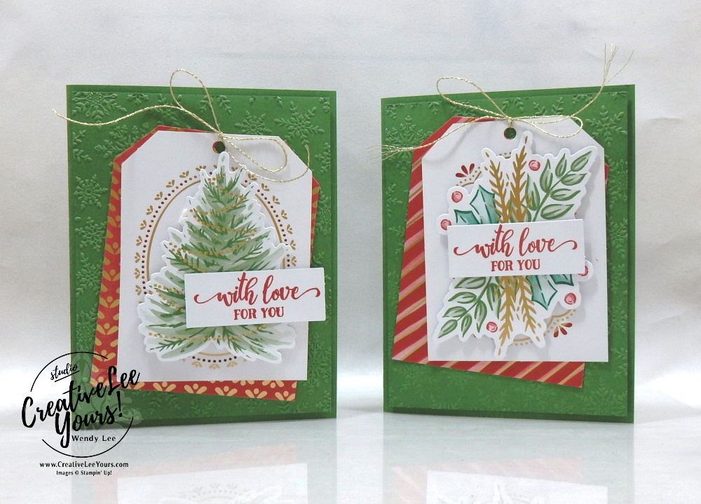 Tag Buffet Holiday cards by wendy lee, stampin up, stamping, SU, #creativeleeyours, creatively yours, creative-lee yours, #cardmaking #handmadecard #rubberstamps #stamping, friend, celebration, congratulations, thank you, hello, birthday, wedding, Christmas, online bingo, stamping, DIY, paper crafts, #papercrafting , #papercraftingsupplies, #papercraftingisfun , Tag Buffet stamp set, #makeacardsendacard ,#makeacardchangealife, ,#tutorial ,#tutorials, fast & easy, holiday