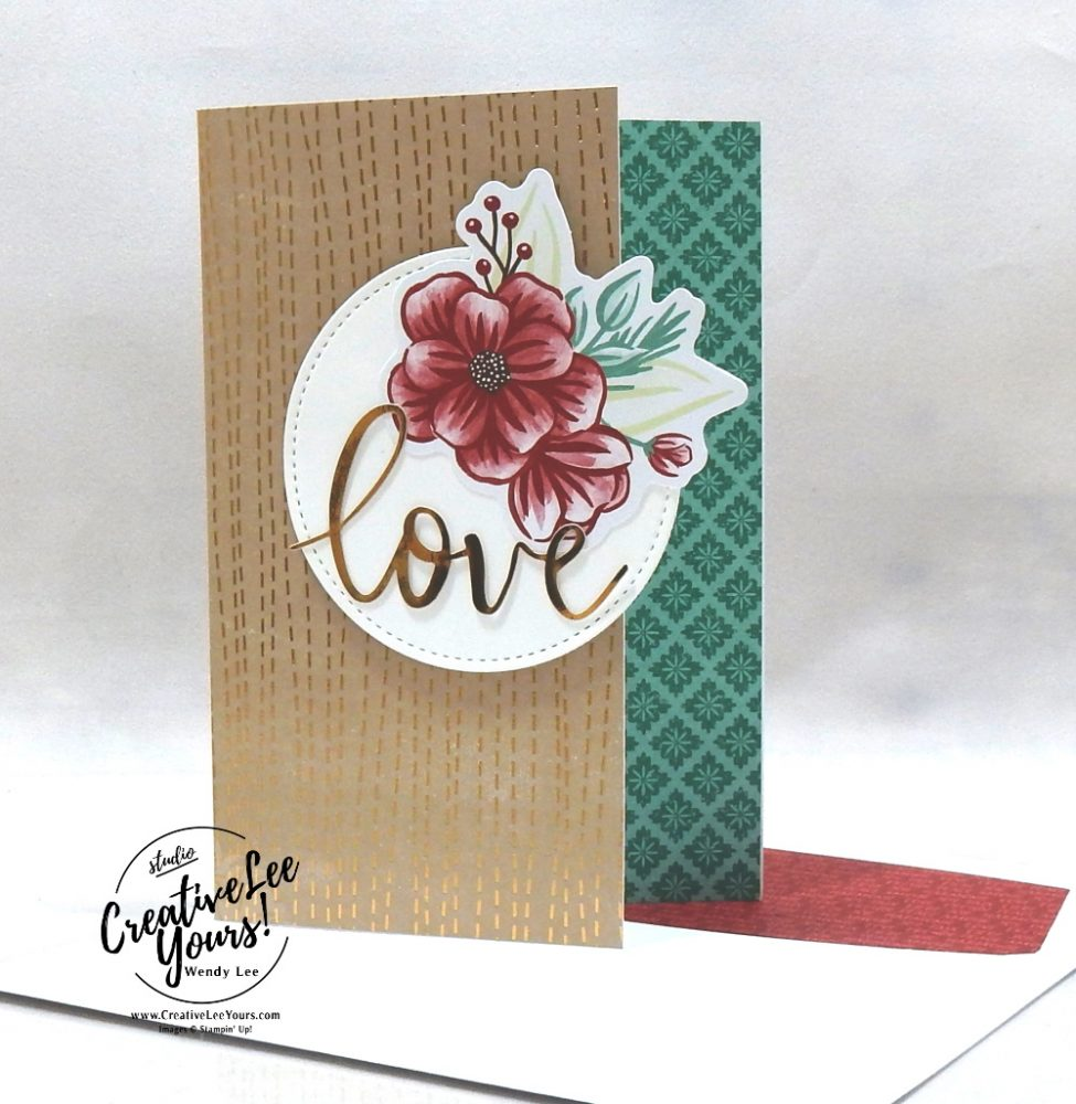 LOVE by Wendy Lee, October 2020 Paper Pumpkin Kit, Joy to the world, stampin up, handmade cards, rubber stamps, stamping, kit, subscription, #creativeleeyours, creatively yours, creative-lee yours, celebration, smile, thank you, birthday, Christmas, flowers, congrats, wreath, joy, peace, love, bonus tutorial, fast & easy, DIY, #simplestamping, card kit, subscription, craft kit, #paperpumpkinalternates , #paperpumpkinalternative ,#paperpumpkinalternatives, #papercraftingkit