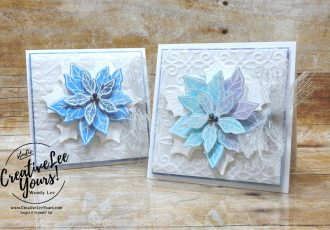 Frosted Poinsettia Gift Card Holder by Wendy Lee, stampin Up, SU, #creativeleeyours, handmade card, Poinsettia Petals stamp set, Christmas, friend, celebration, thank you, stamping, creatively yours, creative-lee yours, DIY, birthday, gift card holder, papercrafts, rubberstamps, #stampinupdemonstrator , #papercrafts , #papercraft , #papercrafting , #papercraftingsupplies, #papercraftingisfun, facebook live, video , snowflake splendor, plush poinsettia