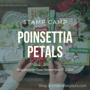 poinsettia place stamp camp, Poinsettia Place suite, Stampin' Up! Video with wendy lee, Poinsettia Petals stamp set, Stampin Up, #creativeleeyours, creatively yours, #stampinupdemonstrator ,#cardmaking #handmadecard #rubberstamps #stamping, SU, SUO, creative-lee yours, #DIY, #papercrafts , #papercraft , #papercrafting , fellowship, video, friend, birthday, celebration, hello, thank you, sympathy, Christmas, holidays, #makeacardsendacard ,#makeacardchangealife, #papercraftingsupplies, #papercraftingisfun, #simplestamping