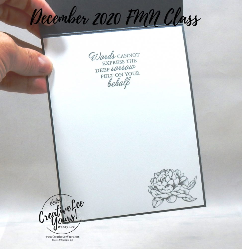 Curvy Thinking Of You by wendy lee, Quite Curvy stamp set, Prized Peony stamp set, sympathy, stampin up, stamping, SU, #creativeleeyours, creatively yours, creative-lee yours, #cardmaking, #handmadecard, #rubberstamps #stamping, friend, thinking of you, stamping, DIY, paper crafts, #papercrafting , #papercraftingsupplies, #papercraftingisfun , FMN, forget me not, card club, class, #makeacardsendacard ,#makeacardchangealife, ,#tutorial ,#tutorials, peony garden