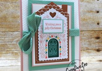 Jolly Christmas by Wendy Lee, November 2020 Paper Pumpkin Kit, Jolly Gingerbread, stampin up, handmade cards, gift card holder, candy embellishments, peppermint, rubber stamps, stamping, kit, subscription, #creativeleeyours, creatively yours, creative-lee yours, celebration, smile, thank you, birthday, Christmas, flowers, congrats, gingerbread, house, love, bonus tutorial, fast & easy, DIY, #simplestamping, card kit, subscription, craft kit, #paperpumpkinalternates , #paperpumpkinalternative ,#paperpumpkinalternatives, #papercraftingkit