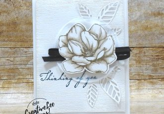 Thinking Of You Inlaid Die-Cuts by wendy lee, Good Morning Magnolia stamp set, Woven Heirlooms stamp set, sympathy, stampin up, stamping, SU, #creativeleeyours, creatively yours, creative-lee yours, #cardmaking, #handmadecard, #rubberstamps #stamping, friend, thinking of you, stamping, DIY, paper crafts, #papercrafting , #papercraftingsupplies, #papercraftingisfun , FMN, forget me not, card club, class, #makeacardsendacard ,#makeacardchangealife, ,#tutorial ,#tutorials, inlaid, die cuts, vellum, blends