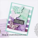 Floating and Fluttering Bundle with Wendy lee, Stampin