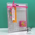 Team Gift Box by wendy lee, Diemonds team gifts, team advancement, team promotion, stampin up, stamping, handmade, SU, #creativeleeyours, creatively yours, creative-lee yours, SU cards, business opportunity, #makemoneyathome, congrats, itty bitty birthdays stamp set, dragonfly, flowers for every season