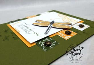 Kindness by Wendy Lee, Dragonfly Garden stamp set, #simplestamping, stampin up, stamping, SU, #creativeleeyours, creatively yours, creative-lee yours, #cardmaking #handmadecard #rubberstamps #stamping, friend, celebration, congratulations, thank you, hello, birthday, warm wishes, stamping, DIY, paper crafts, #papercrafting , #papercraftingsupplies, #papercraftingisfun , #makeacardsendacard ,#makeacardchangealife, #diemondsteam, #businessopportunity,#onstage, dragonfly, ladybug, dandy garden